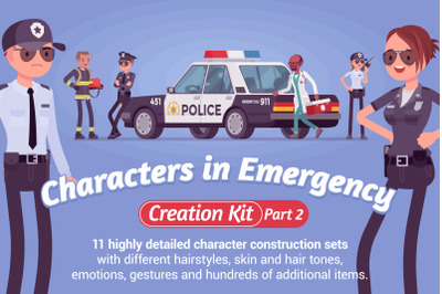 Characters in Emergency Kit