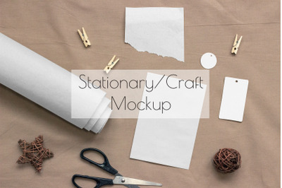 All in one Stationary/Print Mockup