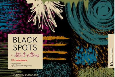 BLACK SPOTS and abstract patterns