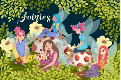 Lovely fairies
