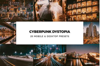20 Cyberpunk Dystopia Lightroom Presets