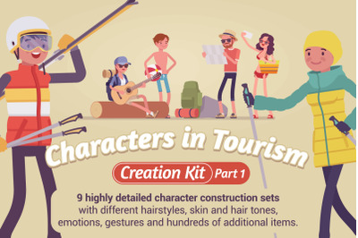 Characters in Tourism Creation Kit