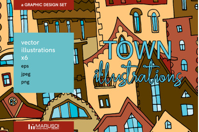 TOWN illustrations