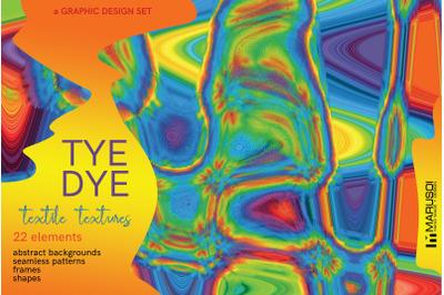 TYE DYE Textil Textures