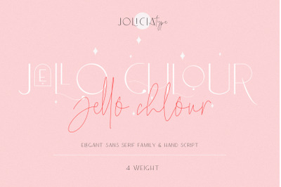 Jello Chlour | Font Duo