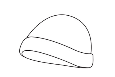 camping hat Outline Icon