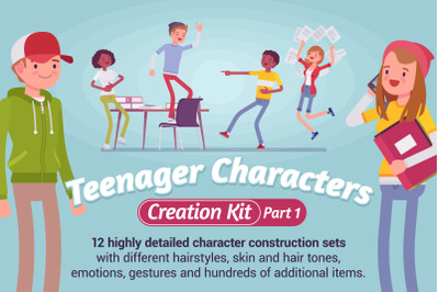Teenager Character Creation Kit