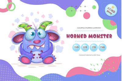 Cute Horned monster.