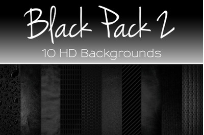 Black Pack 2 HD Texture Backgrounds