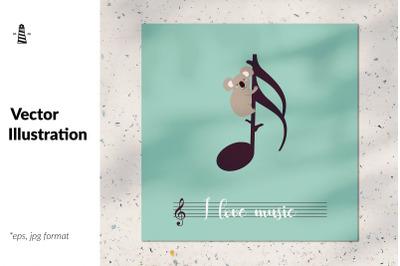 I love music illustration
