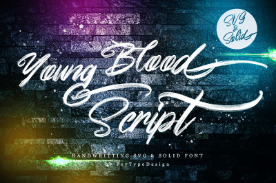 Young Blood - SVG And Solid