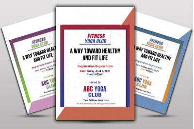 Yoga Club Flayer
