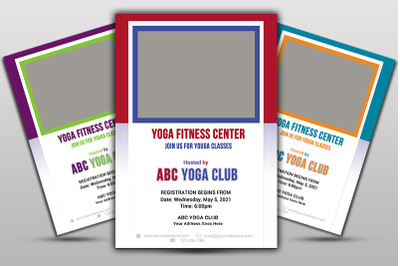 Yoga Fitness Flayer