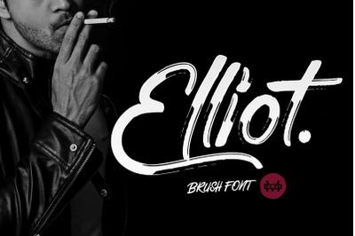 Elliot - Brush Font