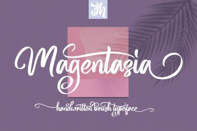 Magentasia - Handwritten Font