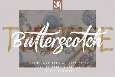 Butterscotch - Handwritten Font
