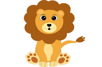 Lion svg, safari animal svg, Jungle svg, animal svg, Digital cut file.