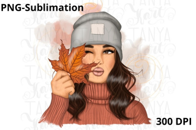 Autumn Girl Png
