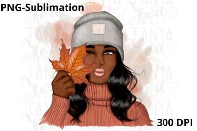 African American Fall Sublimation