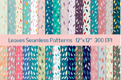 Leaves Seamless Repeat Patterns