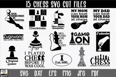 Chess SVG Bundle