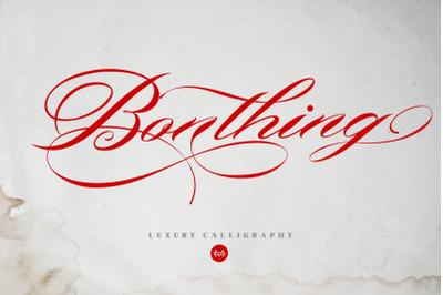 Bonthing - Luxury Calligraphy