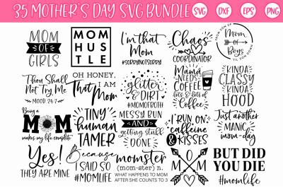Mother's day Momlife Mom SVG Bundle