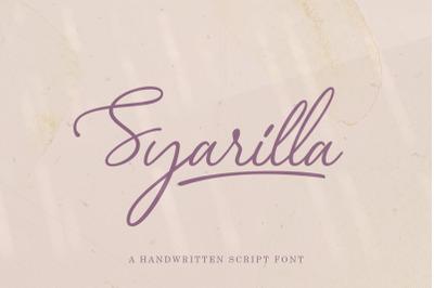 Syarilla - Handwritten Font
