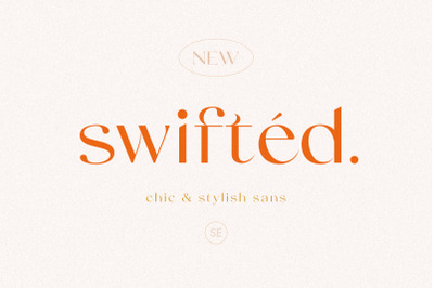 Swifted - Chic & Stylish Sans
