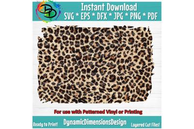 Leopard svg, Digital Paper, Leopard paper, Distressed Leopard Sublimat