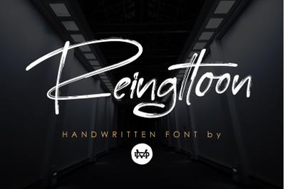 Reingttoon - Handwritten Brush