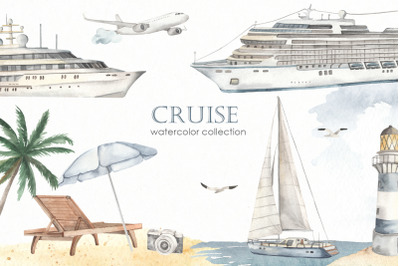 Cruise Watercolor collection