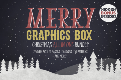 Merry Graphics Box • 70% OFF