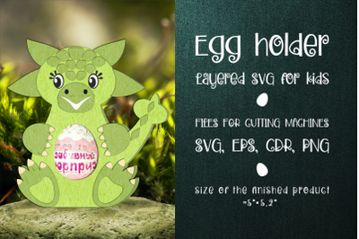 Ankylosaurus - Chocolate Egg Holder template SVG