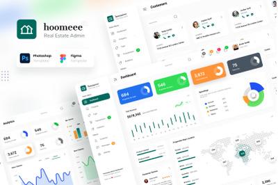 Hoomeee - Real Estate Admin Panel