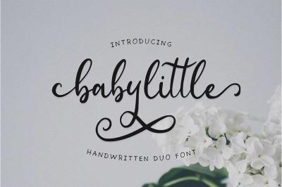 Babylittle Script Duo Font