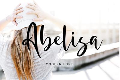 Abelisa Script Font