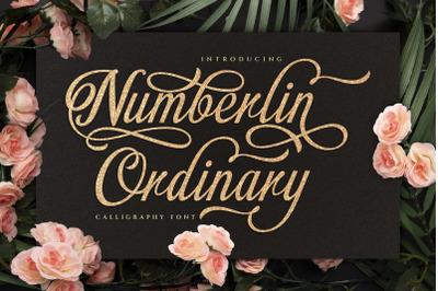 Numberline Ordinary