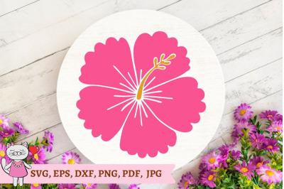 hibiscus svg file, Hawaiian flower Svg ,flower svg file