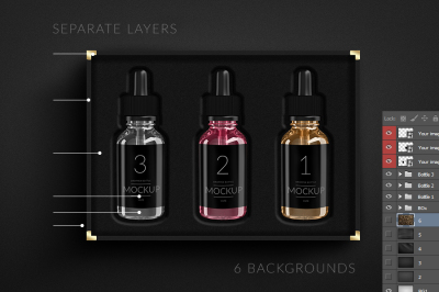 Vape smoking Liquid Bottle E-liquid