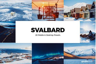 20 Svalbard Lightroom Presets & LUTs