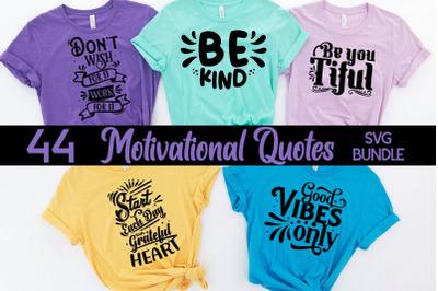 Motivational Quotes SVG bundle, Motivational svg cut file
