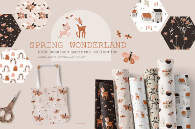 Spring Wonderland patterns