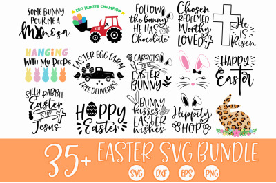 BIG Easter SVG Bundle Cut File