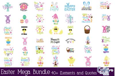 Easter Svg, Easter Bundle, Easter Bunny, Easter Mega Bundle