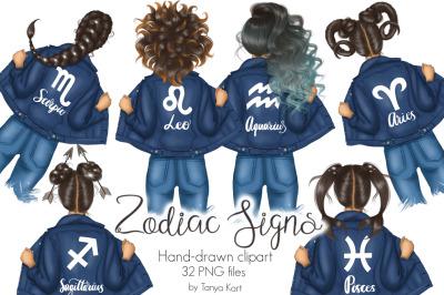 Zodiac Signs Clipart