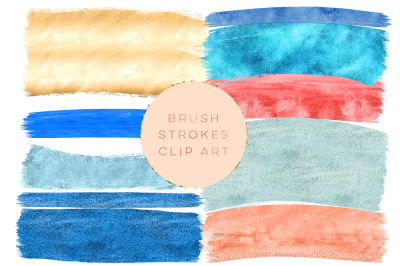 navy blue brush strokes, gold foil clipart brush strokes, paintbrush stroke, Glitter brush strokes, red, blue, yellow clip art,  Graphic art