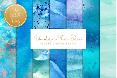 Under The Sea Background Set