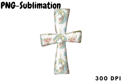 Cross Png Sublimation | Easter Design
