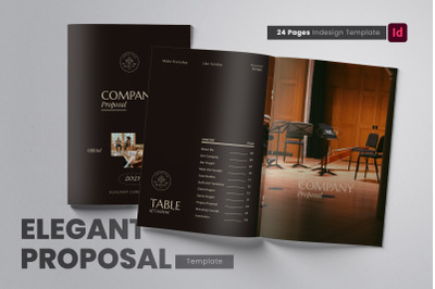 Neat and Elegant Proposal InDesign